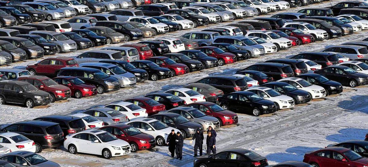 Китайцы в прошлом году купили 20 млн. автомобилей