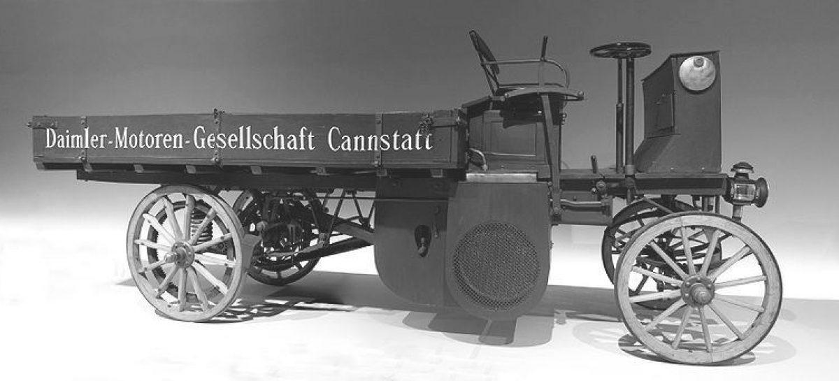 Первый в мире грузовик