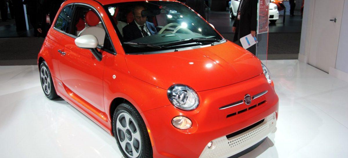 Fiat 500Е по цене $31800
