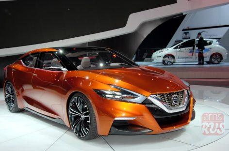 Nissan Maxima — спорт-седан