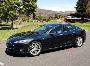 Тест-драйв Tesla Model S от Александра Пикуленко