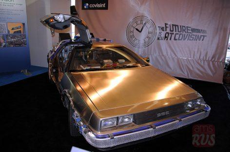 Оригинальный DeLorean на NAIAS Detroit 2014