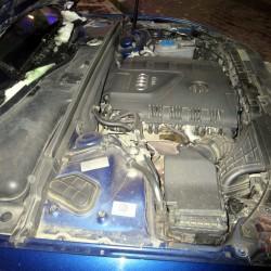 Audi A5 Sportback Двигатель стоит продольно!