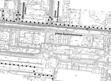 План соединения Варшавки и Липецкой улицы