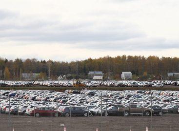 Провал с парковками