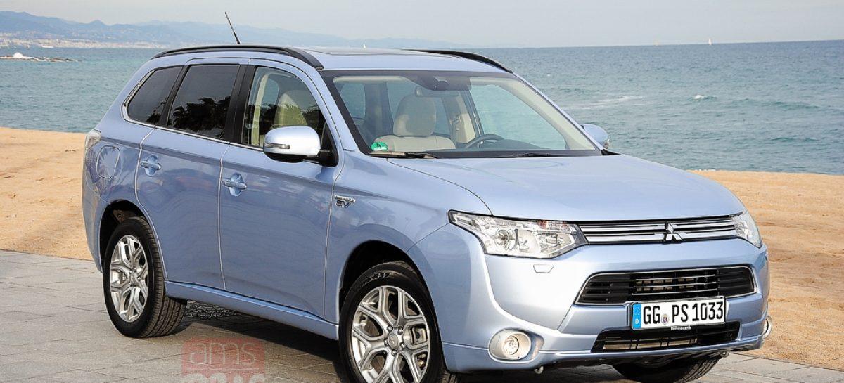 Гибридный внедорожник Mitsubishi Outlander PHEV