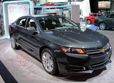 Chevrolet Impala — настоящий американец