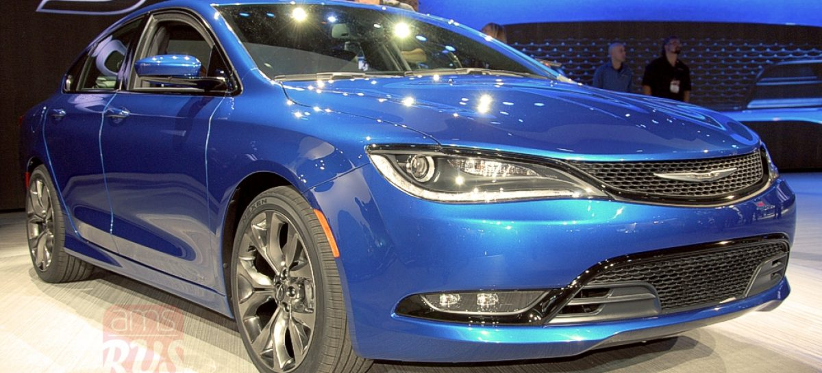 Detroit 2014 — Chrysler 200 С
