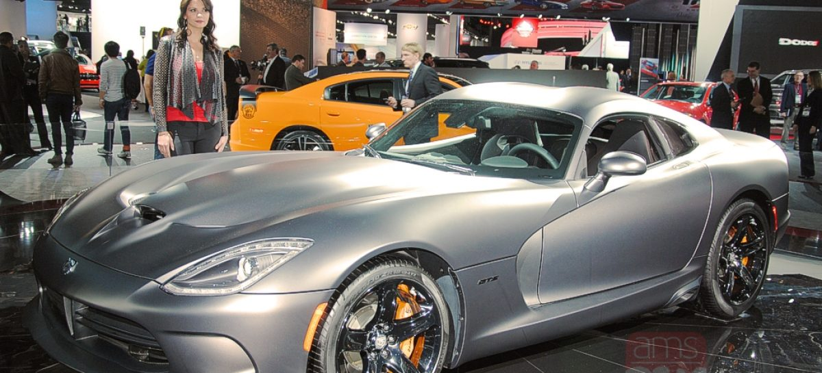 Detroit 2014: Dodge Viper SRT