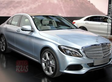 2014 Detroit. Mercedes Benz С class
