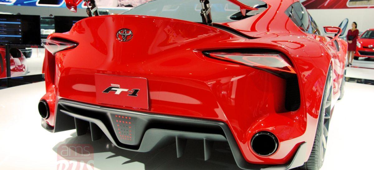 2014 Detroit. Toyota FT1