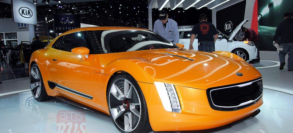 Detroit 2014 — KIA GT4 Stinger