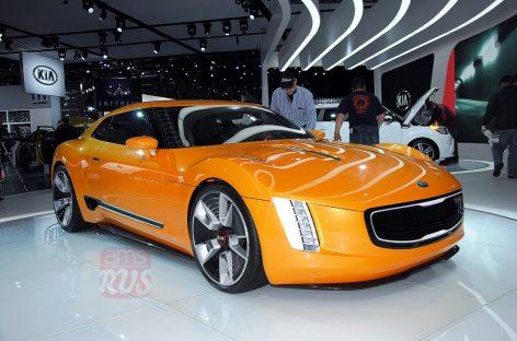 Detroit 2014 – KIA GT4 Stinger