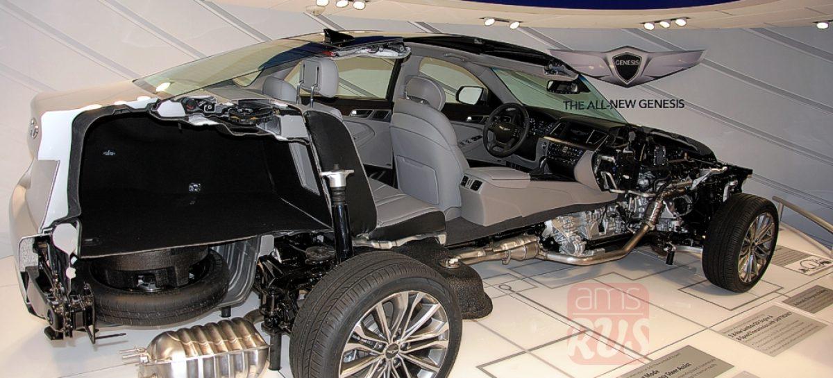 Detroit 2014 — Новый Hyundai Genesis