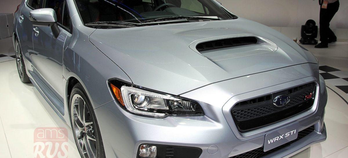 Detroit 2014 — Subaru WRX STI