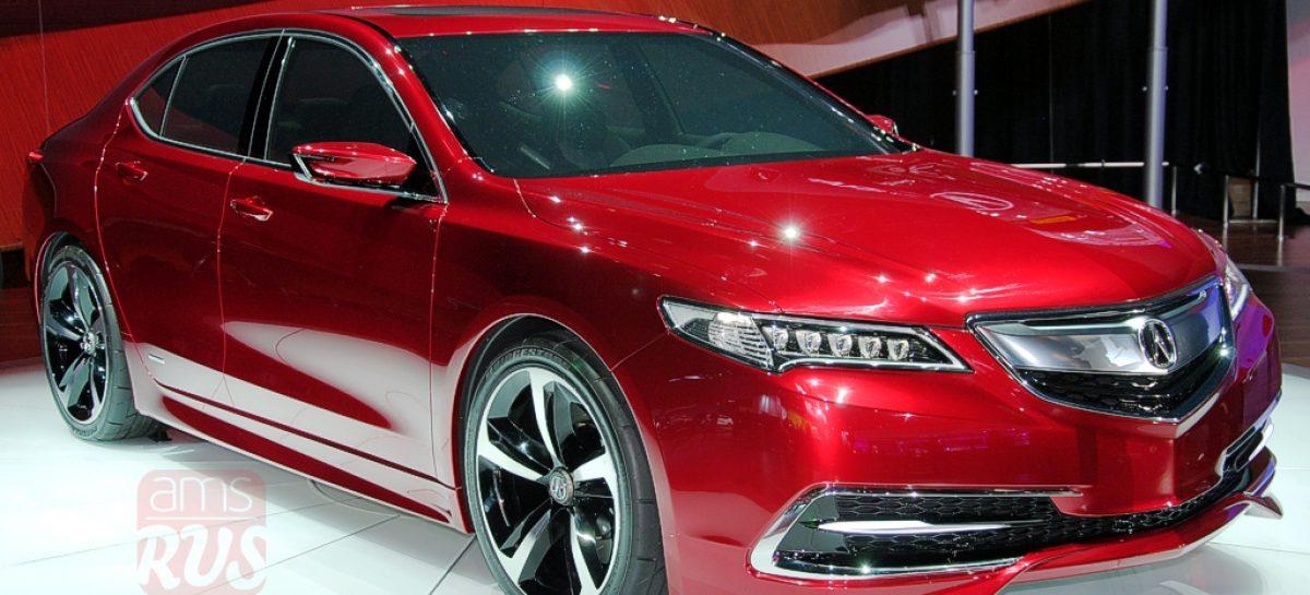 Detroit 2014 — Acura TLX