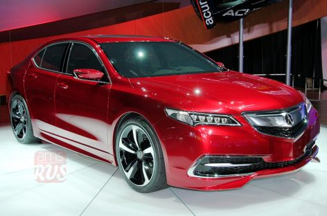 Detroit 2014 – Acura TLX