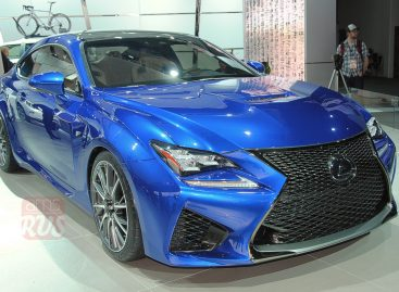 Detroit 2014 — Lexus RC-F