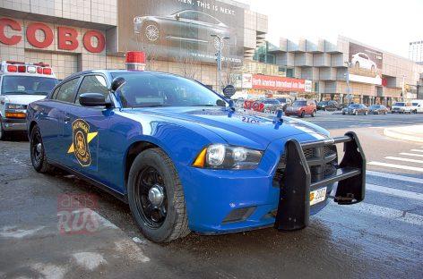 Detroit 2014 — полицейский автомобиль