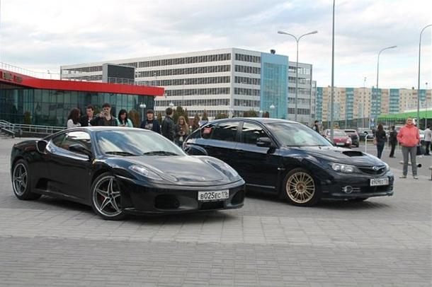 Ferrari in kazan