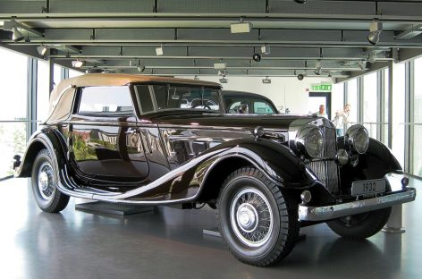 Система обдува ветрового стекла – 1931 год