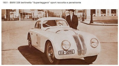 BMW 328 berlinetta Superleggera