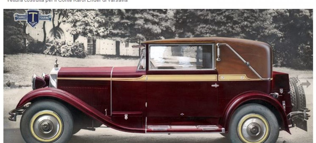 Редкие автомобили: FIAT 520 Cabrio (1928)