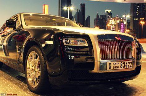 В Дубай машины будут только у… очень богатых