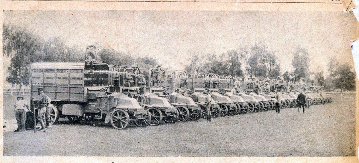 Автомобильные роты – 1910 год
