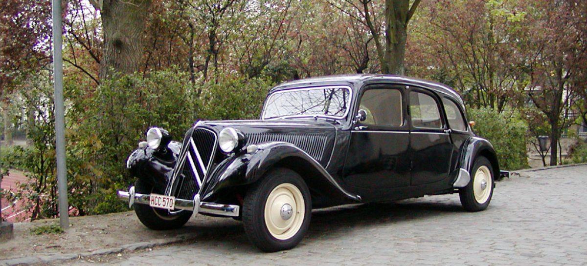Citroen Traction Avant – 1934 год