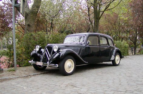 Citroen Traction Avant — 1934 год