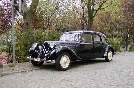 Citroen Traction Avant — 1934 год