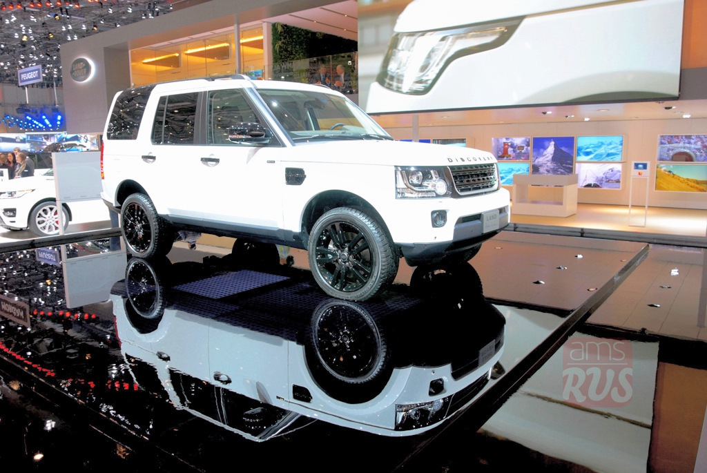 Женева 2014. Land Rover Discovery XXV