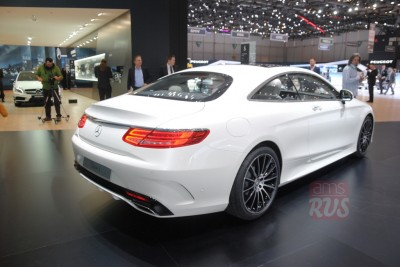 Mercedes Benz S Coupe
