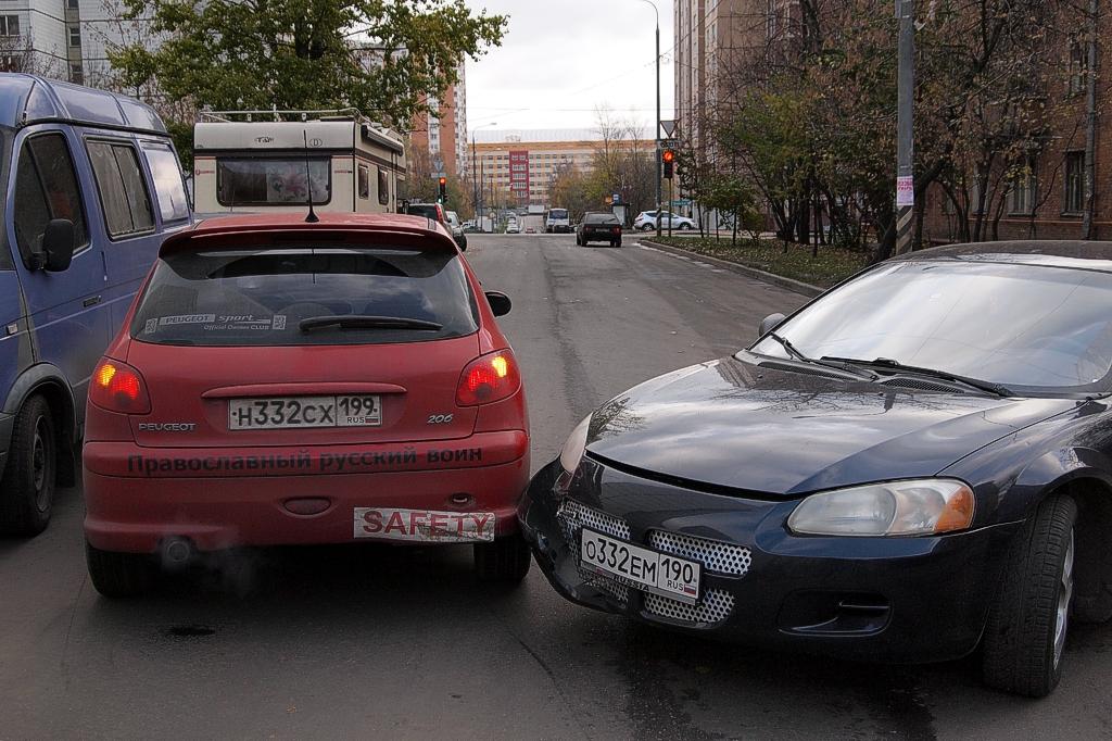 В Москве число оформлений ДТП по европротоколу выросло с начала года в 2,5 раза