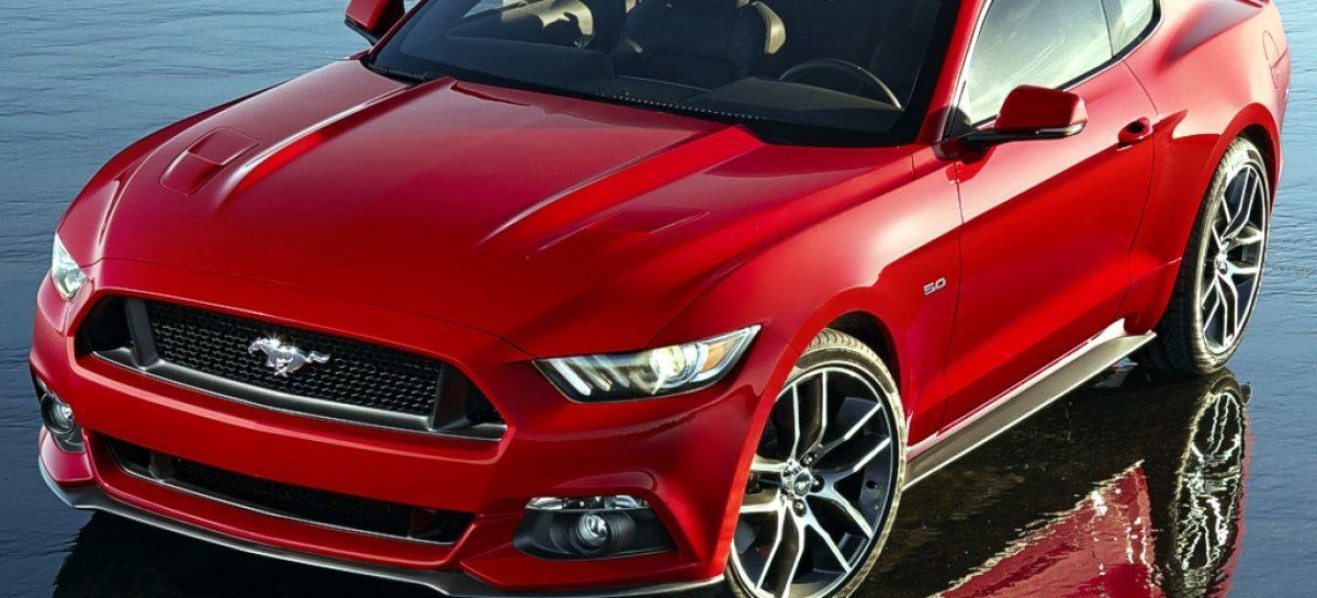Ford Mustang GT 2015 получает платформы AppLink и Launch Control