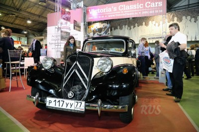 Citroën Traction Avant 11BL 1953 года выпуска