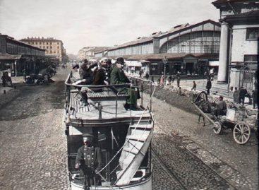 Конка в Москве – 1872 год
