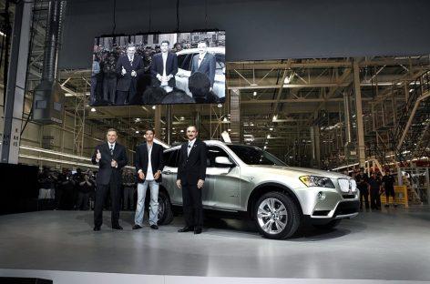 Новый 7-местный BMW X7 поступит на рынок в 2018 году