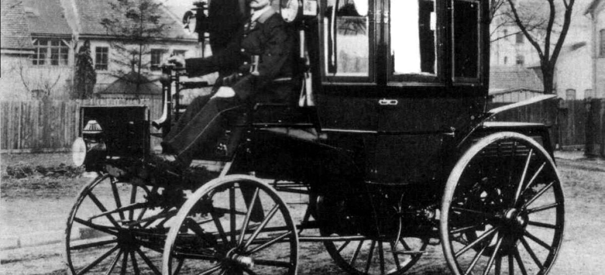 Первый автобус – 1895 год