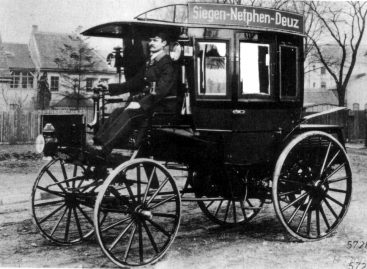 Первый автобус — 1895 год