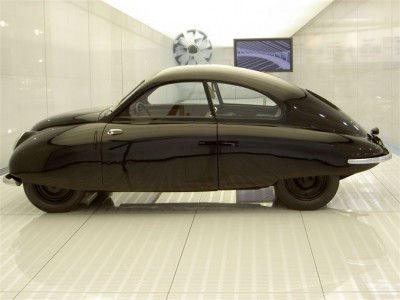 Prototype Saab 92001, at the Saab Car Museum