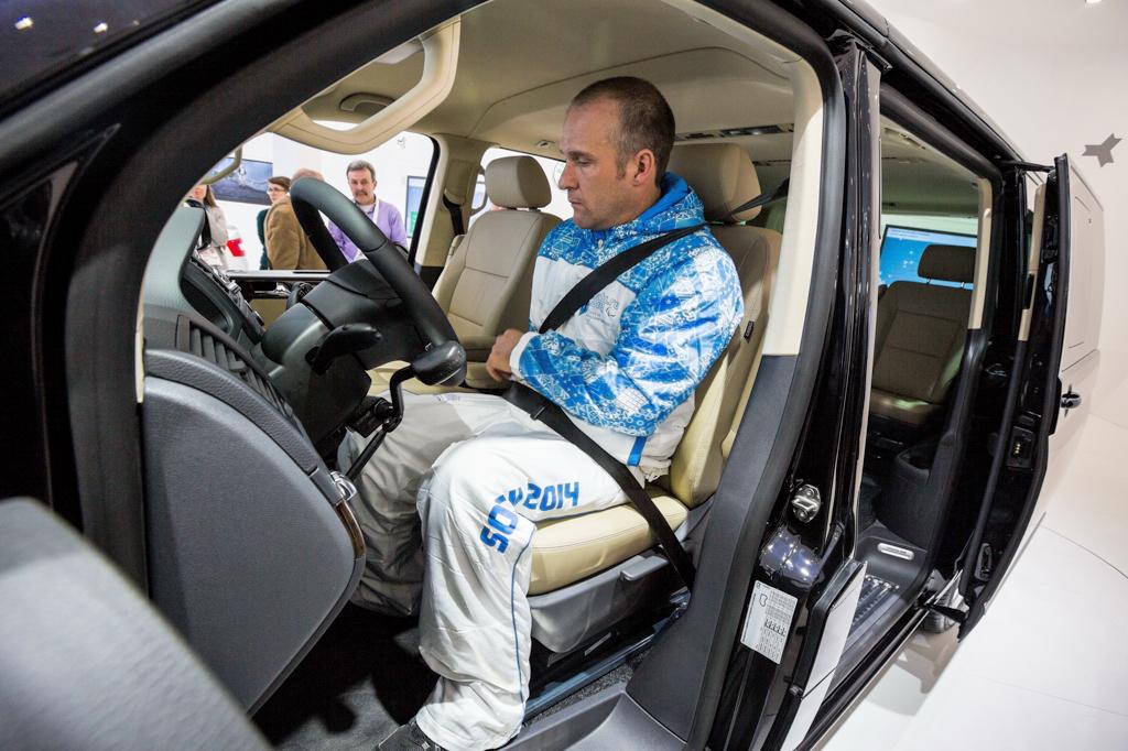 Volkswagen Multivan для лиц с ограниченными возможностями