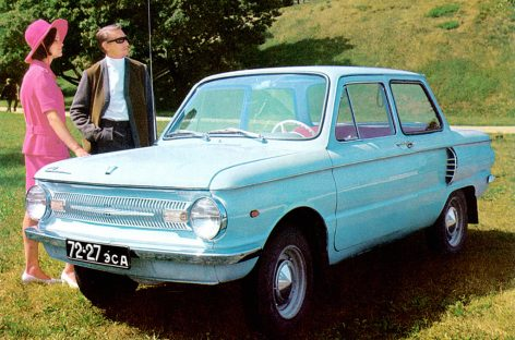 ЗАЗ 966 — 1967 год