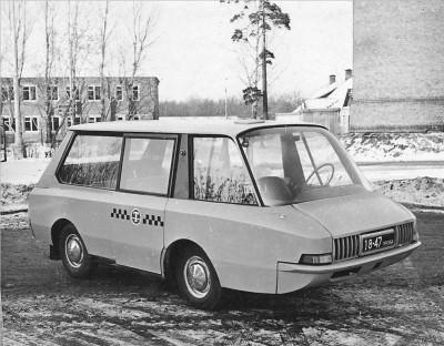 Перспективное такси ВНИИТЭ-ПТ