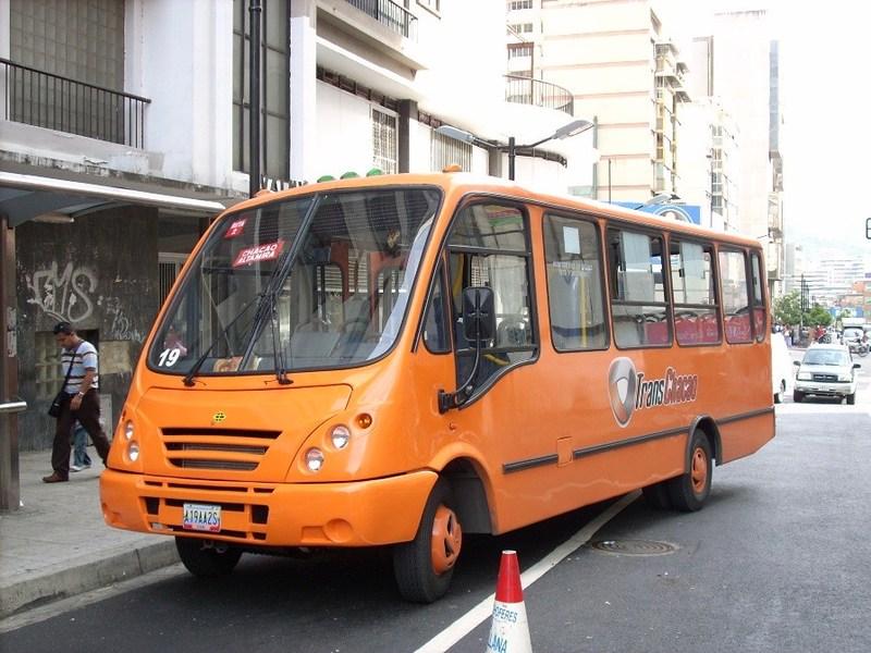 Автобус Каракас