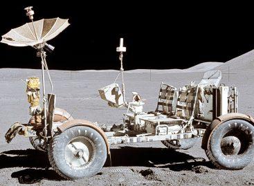 Первый пассажирский автомобиль на Луне – 1972 год