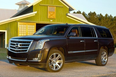 Cadillac Escalade ESV Dark Granite Metallic