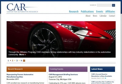 Center Automotive Research