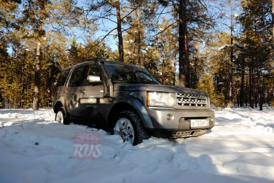 Land Rover Discovery Якутия